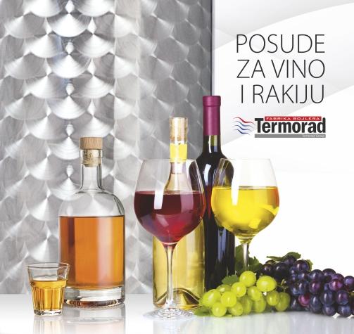 Katalog posuda za vino i rakiju